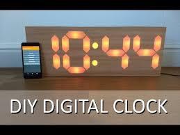 <b>DIY</b> 7 Segment <b>Digital Clock</b> - YouTube