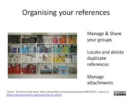 using reference management tools endnote and zotero 11 organising your references