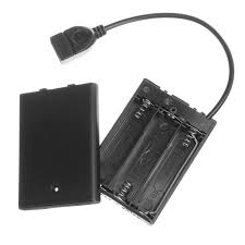 Mini Battery Box with USB Port for <b>DC5V LED Strip</b> Light Product ...