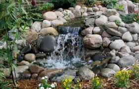 diy patio pond: backyard with stone waterfall backyard easy diy backyard small ponds with stone waterfall ideas