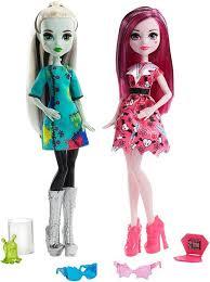 <b>Monster High</b> урок естественных наук, куклы Френки и Дракулаура