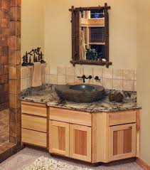 hickory bathroom vanity canyon creek cornerstone shaker in rustic hickory with a toffee finish
