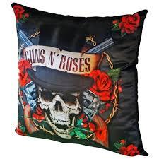<b>Подушка</b> декоративная gift'n'home <b>guns n</b>' <b>roses</b> 35х35 см (plw-35 ...