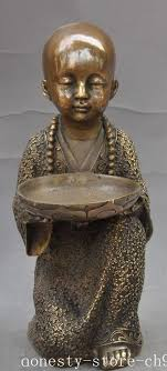 <b>christmas old china chinese</b> buddhism <b>bronze</b> fane Buddhist monk ...