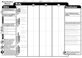 basic essay structure smash the hsc essay structure planner b w a3 printable version