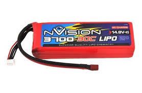 <b>Аккумулятор nVision LiPo</b> 14.8V 4S 30C 3700 mAh - купить в Rc-like