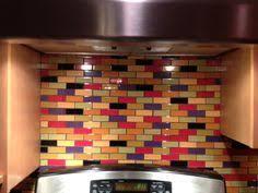 kitchen tile mural multi colored