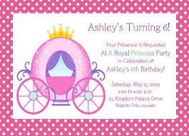kids birthday party invitation card party design inspiration printable princess party invitations