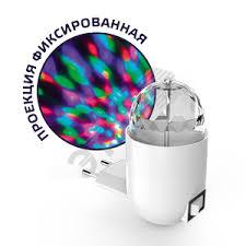 Диско-светильник <b>LED проекционный</b>, 3Вт, белый Gauss GAUSS ...