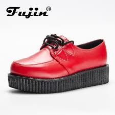 <b>Fujin Brand</b> leather pu autumn <b>Creepers</b> casual <b>shoes</b> loafers ...