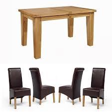 grand oak extending dining table mm  chiltern grand oak small extending dining table with four sherwood oa