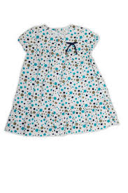 Organic Cotton Printed <b>Girl</b>''s <b>Puff</b> Sleeve <b>Summer</b> Dress - Net ...