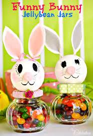 <b>Funny Bunny</b> Jellybean Jars - Little Miss Celebration