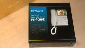 Обзор от покупателя на <b>Видеодомофон FALCON EYE</b> FE-4CHP2 ...