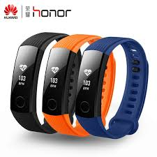 100% <b>Original Huawei Honor</b> Band 3 Heart Rate Monitor Waterproof ...