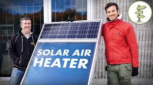 Awesome <b>Solar Air Heater</b> for Off Grid Living, Tiny Houses, RVs and ...