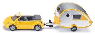 Легковой автомобиль <b>Siku Volkswagen Beetle</b> с домом на колесах ...