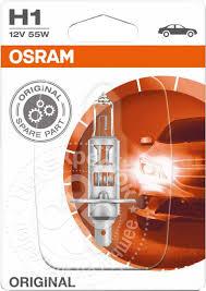 Купить <b>Лампа</b> галогенная <b>Osram H1</b> 55Вт 12В с доставкой на дом ...