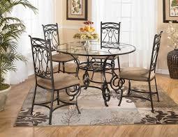 size glass dinette table sets