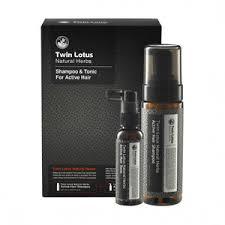 <b>Twin</b> Lotus <b>набор для волос</b> шампунь активный травяной 160 мл ...