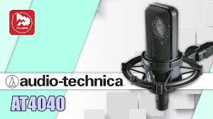 Великолепный <b>студийный микрофон AUDIO-TECHNICA</b> AT4040 ...