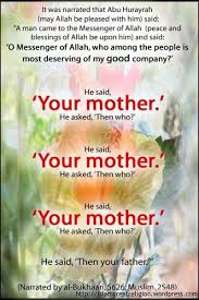 Your mother | My muslim family x | Pinterest | Hadith, Mothers and ...
