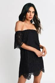 <b>Lace</b> Dresses | Sexy <b>Black</b>, White Long Sleeve, Short Red | Tobi