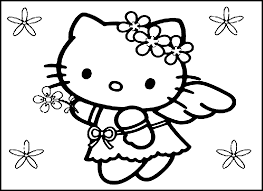 printable hello kitty birthday invitations coloring pages for printable hello kitty coloring pages for kids coloring pages for girls