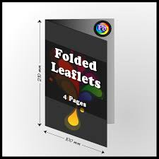 Same day Folded Leaflets & Menu <b>Printing London</b>