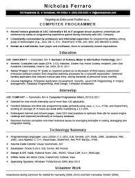 entry level computer programming resume template sample adobe pdf pdf rich text rtf microsoft word