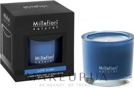 Millefiori Milano Natural Candle Cold <b>Water</b> - <b>Ароматическая свеча</b> ...
