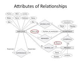 analysis and design of data systems entity relationship model attributes of relationships