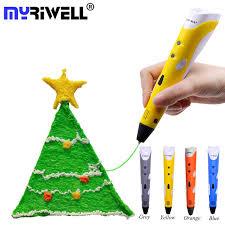 <b>Myriwell</b> ABS PLA Filament <b>3d Pen</b> 3D Doodler Pen Low Heat BPA ...