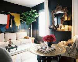 how to decorate with dark walls bohemian living room furniture