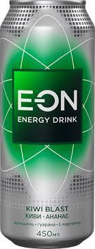 <b>Напиток энергетический E-ON</b> Kiwi blast газированный, 0.45л ...