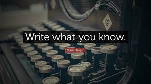 Image result for write what you know