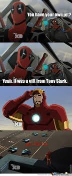Deadpool Is Now On Ultimate Spider-Man by kupo707 - Meme Center via Relatably.com