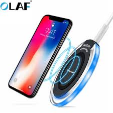 <b>Olaf</b> qi <b>Wireless Charger for</b> iPhone X XR XS Max 8 USB wireless ...