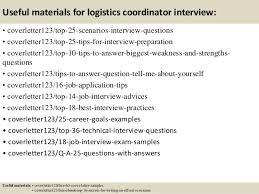 Logistics Assistant Cover Letter Sample   LiveCareer resume objective management resume cover letter samples medical resume  objective management sample of a logistics management