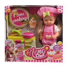 Характеристики модели <b>Кукла Dimian</b> Baby <b>Nena Шеф</b>-<b>повар</b>, 36 ...