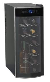 amazoncom avanti 12 bottle thermoelectric counter top wine cooler model ewc1201 appliances arched table top wine cellar furniture