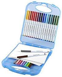 Crayola Supertips <b>Washable</b> Markers And <b>Paper</b> Set: Crayola ...