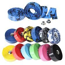 <b>2Pcs</b> Bicycle Handlebar Tape Steering Wheel Cover <b>Road Bike</b> ...