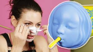 Women Try <b>Dr</b>. <b>Jart's Rubber</b> Face <b>Masks</b> - YouTube