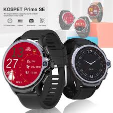 <b>KOSPET Prime</b> SE <b>Face ID</b> Dual Cameras 4G Smartwatch Phone ...