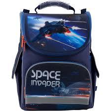 <b>Рюкзак школьный</b> каркасный Kite Education Space trip K19-501S-10