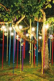 party light idea wishing i had a tree in my backyard backyard party lighting ideas