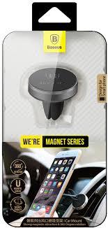 Купить магнитный <b>автомобильный держатель Baseus</b> Magnet ...