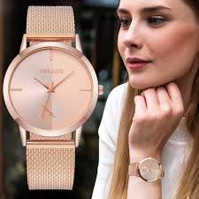 <b>2019</b> Hot <b>Fashion Women</b> Quartz Watch Luxury <b>Plastic</b> Leather ...