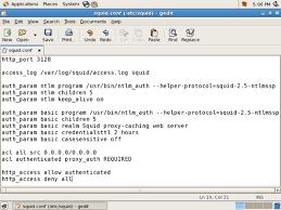 Squid.conf untuk Proxy Server